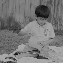 Gabriel reading