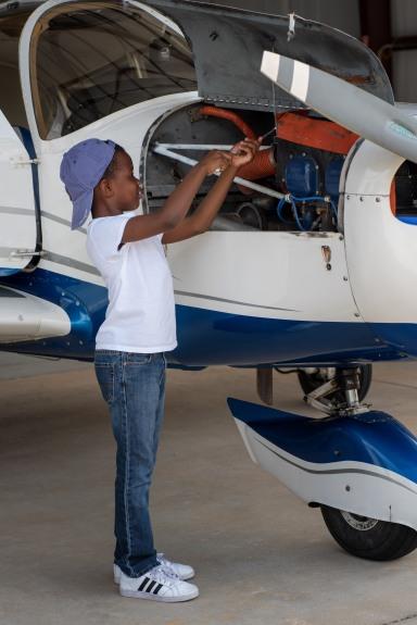 Jay fixing plane