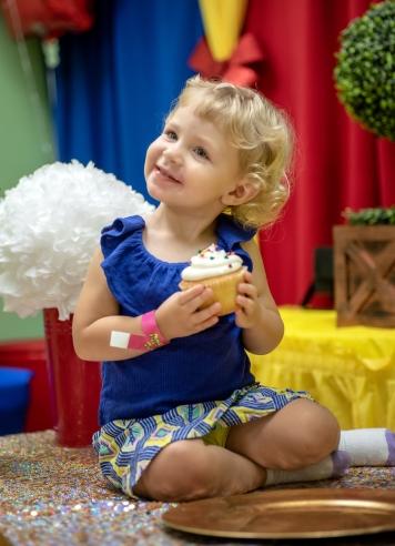 Ruby noshing cupcake II