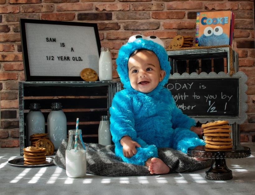 baby Sam Monster
